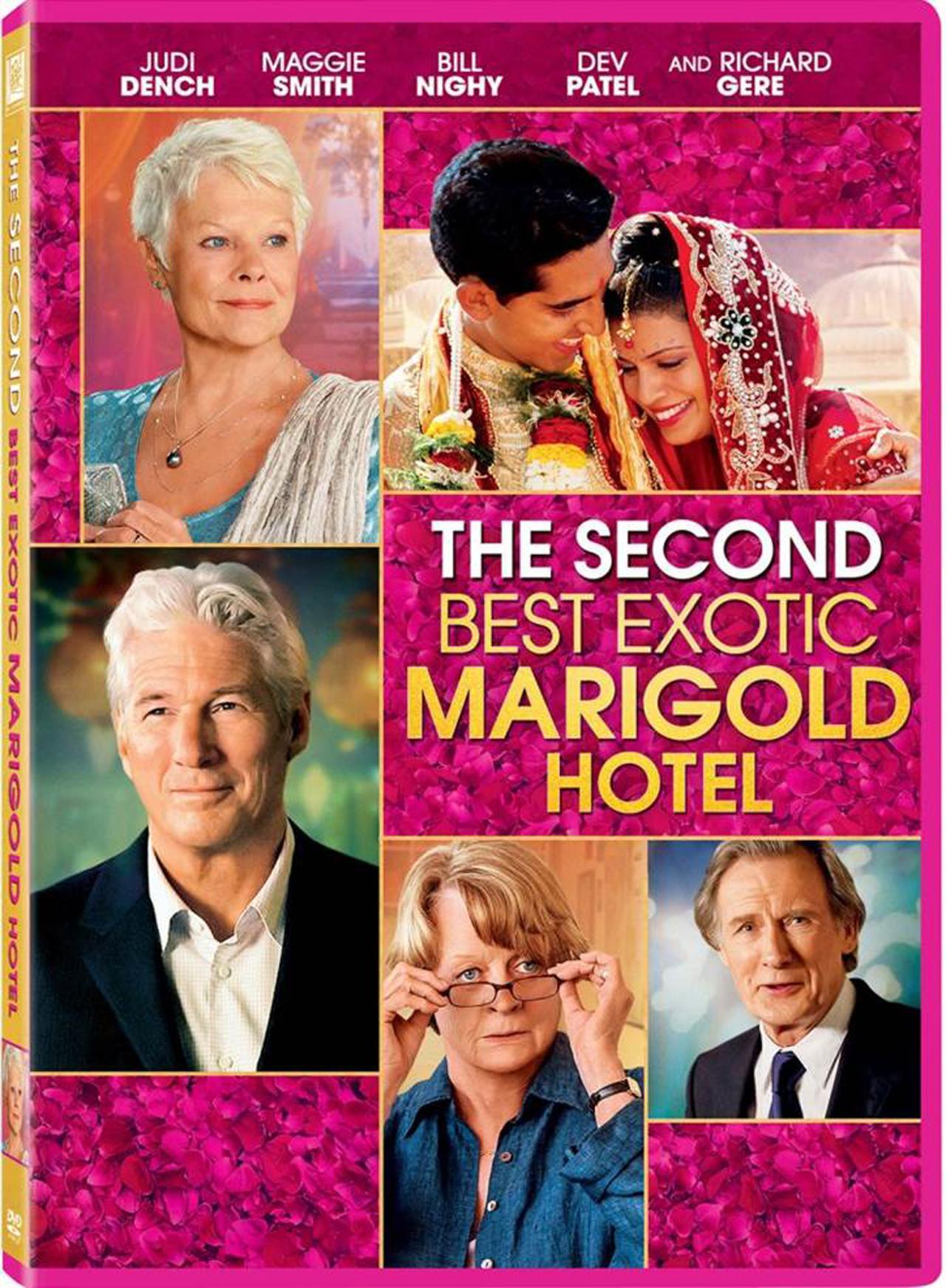 The Second Best Exotic Marigold Hotel : โรงแรมสวรรค์ อัศจรรย์หัวใจ 2