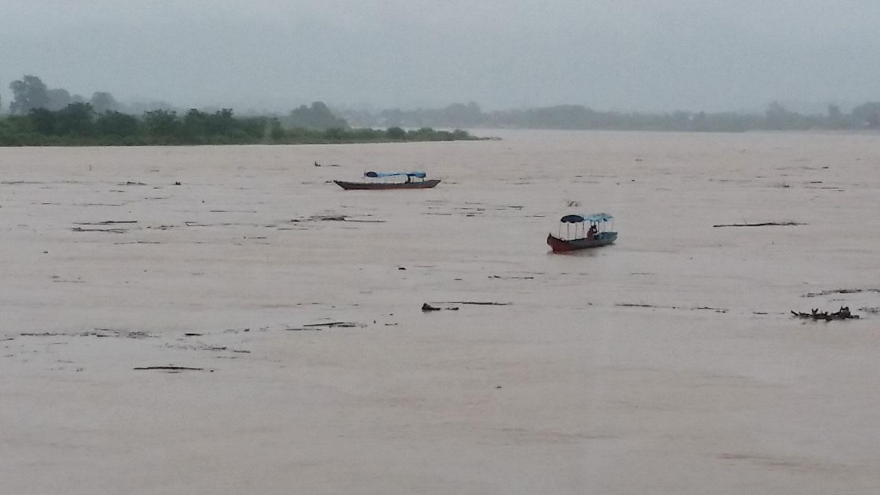 ระดับน้ำในแม่น้ำโขง เพิ่มสูงขึ้น หลังเกิดฝนตกต่อเนื่อง