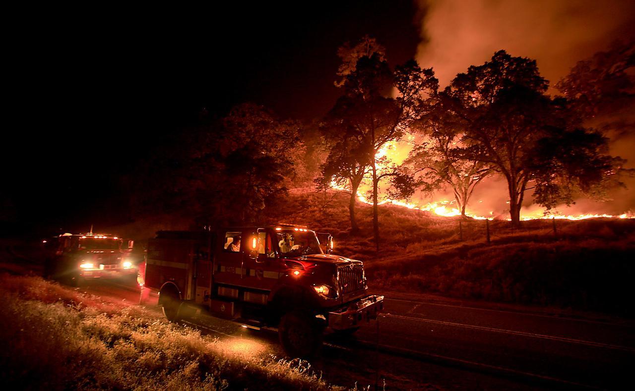 ไฟป่าที่รัฐแคลิฟอร์เนียครั้งนี้ลุกลามรวดเร็วมาก