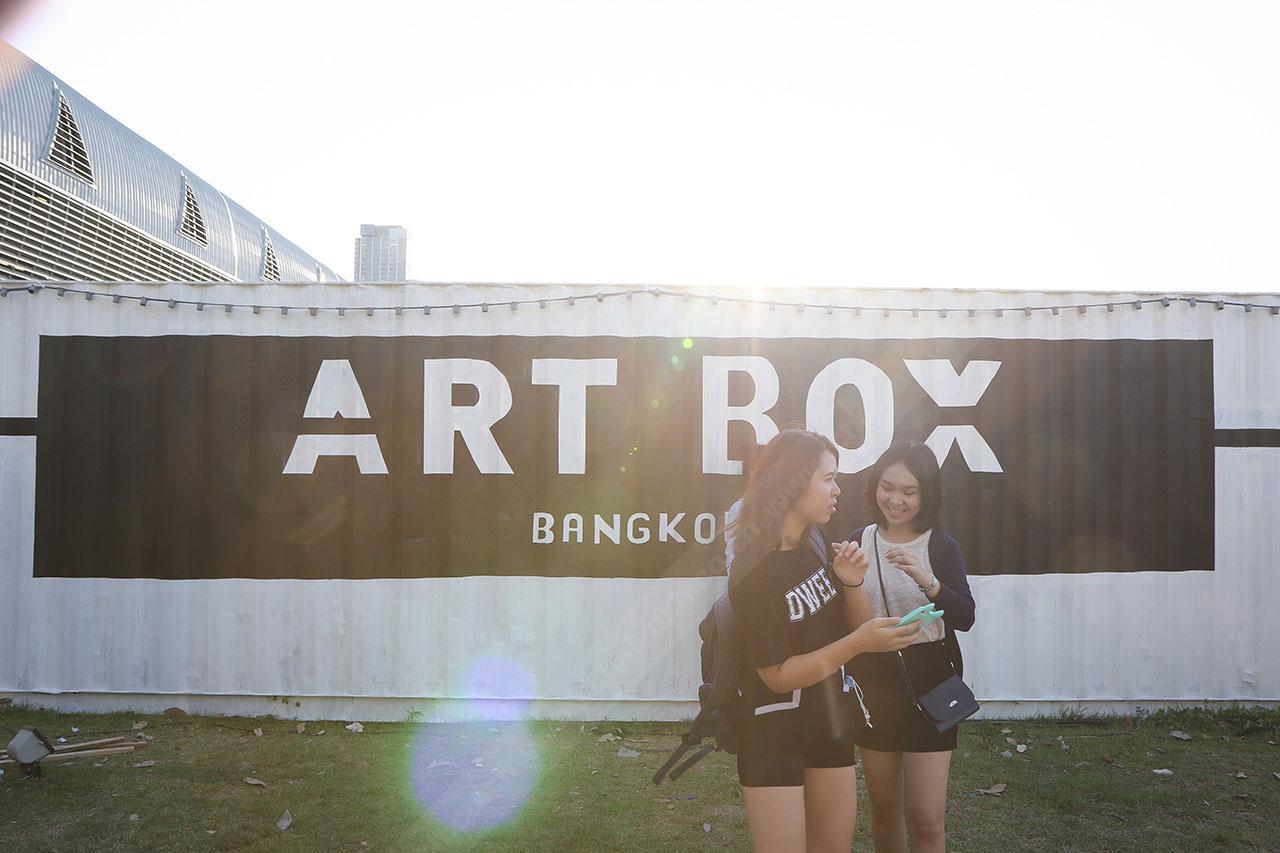 งาน ArtBox EP.2 ตลาดนัดตู้คอนเทนเนอร์