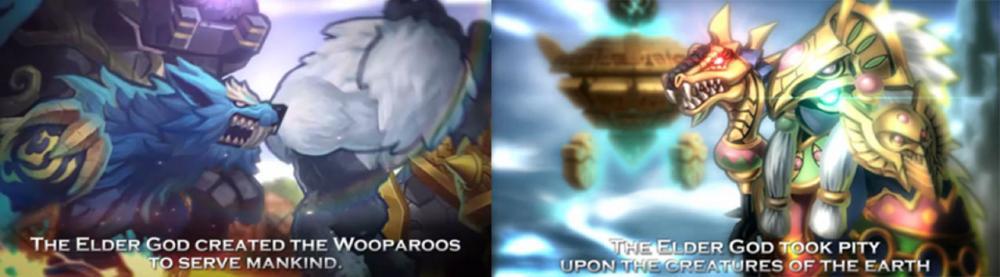 LINE Wooparoo Saga Origin