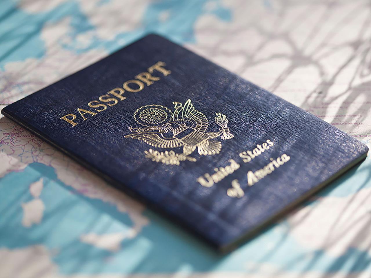 พาสปอร์ตสัญชาติอเมริกัน