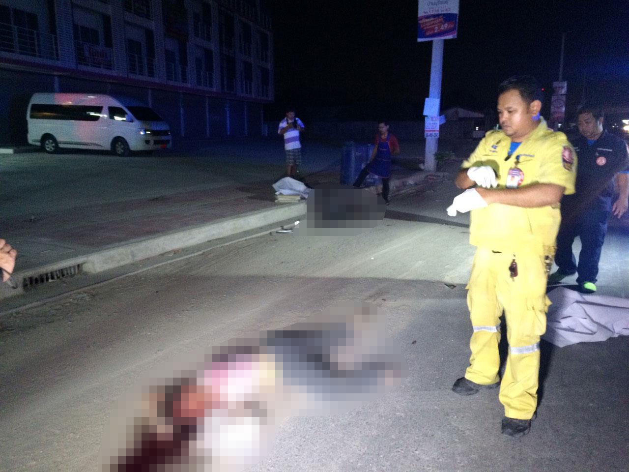 อุบัติเหตุรถกระบะ ชน จยย.มีผู้เสียชีวิต 2 ราย