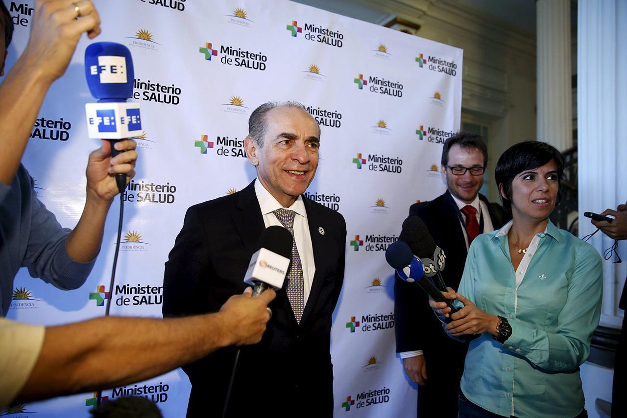 มาร์เซโล กาสโตร รัฐมนตรีว่าการกระทรวงสาธารณสุขบราซิล (ภาพ: AFP)