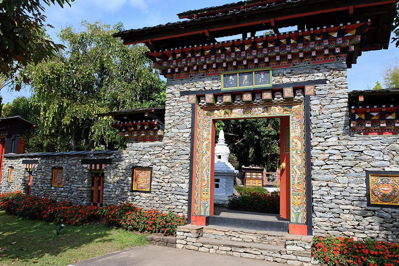 สวนประเทศภูฏาน.