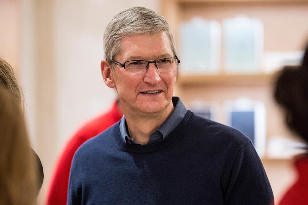 ทิม คุก ซีอีโอของบริษัท แอปเปิล (ภาพ: AFP)