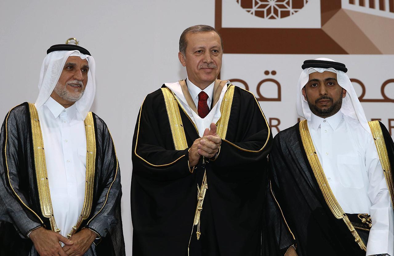 ประธานาธิบดีเรเซป เทย์ยิป เออร์โดกันของตุรกี