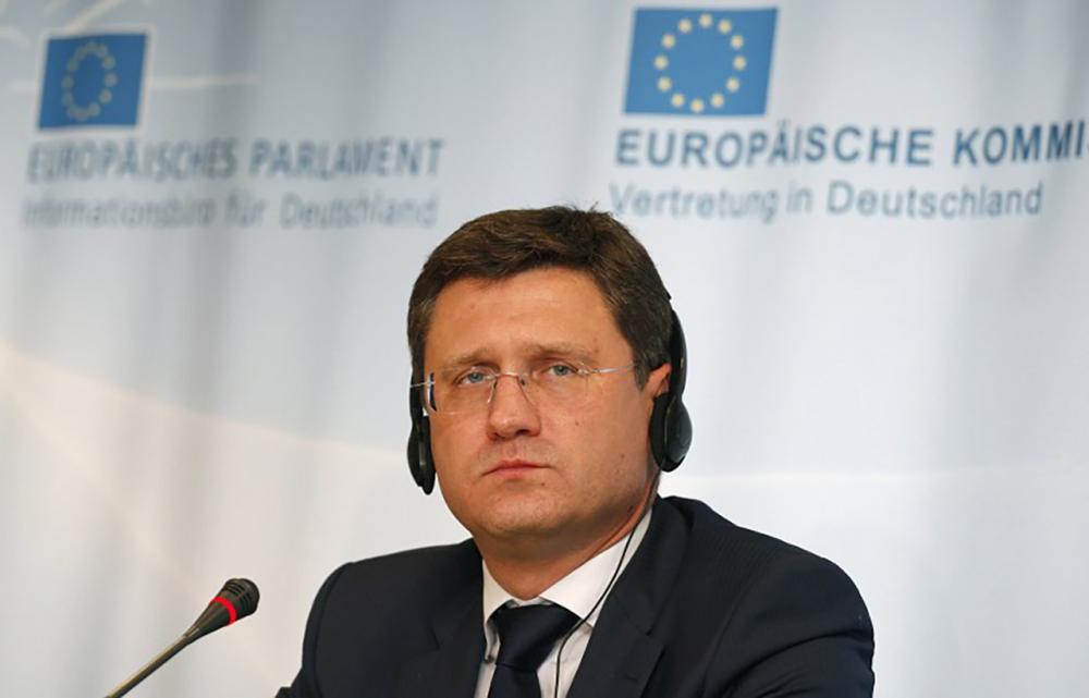 อเล็กซานเดอร์ โนวัค รัฐมนตรีว่าการกระทรวงพลังงานของประเทศรัสเซีย (ภาพ: AFP)
