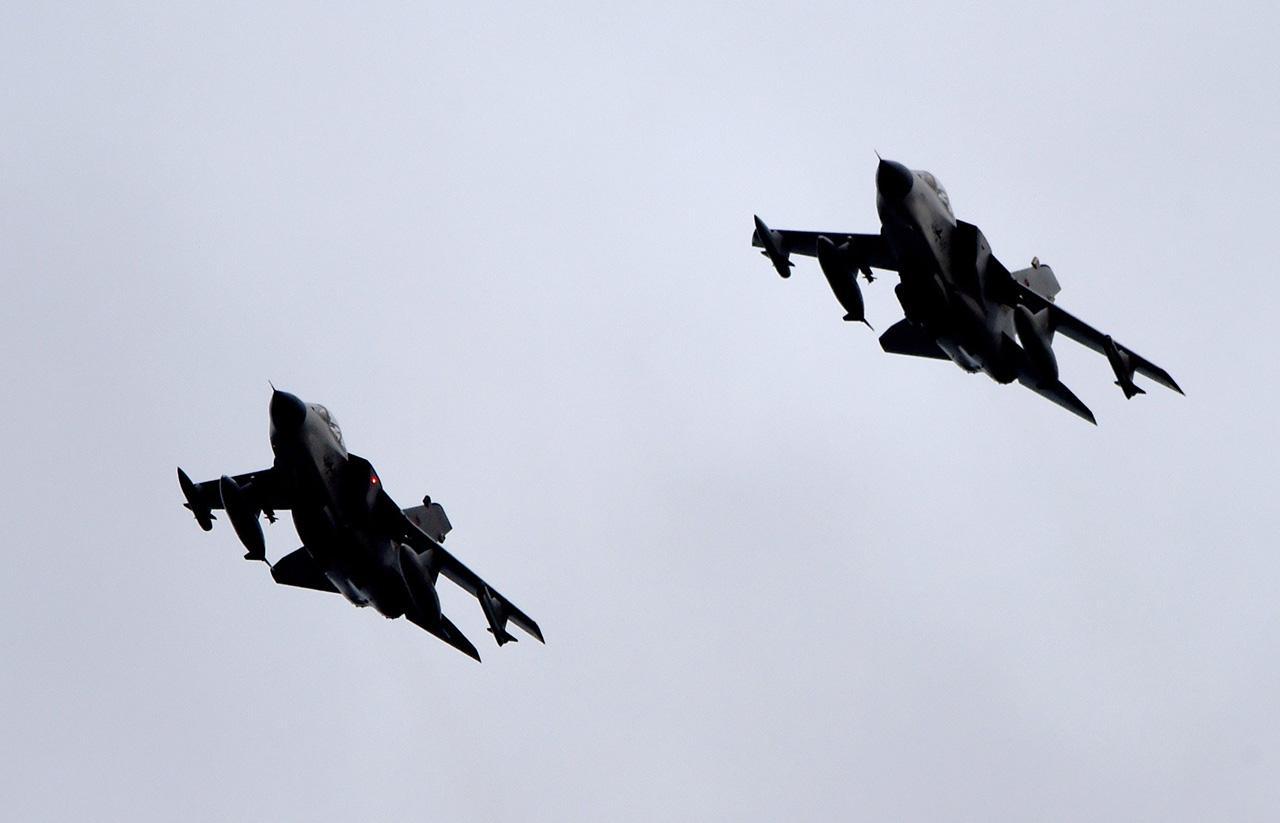 เครื่องบินรบ ทอร์นาโด ของเยอรมนี (ภาพ: AP)