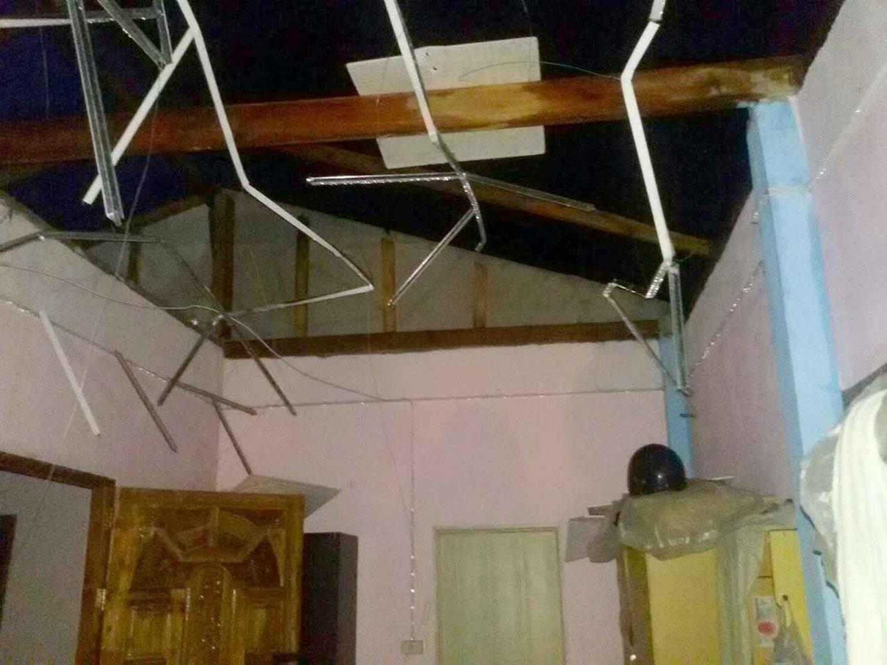 พายุฤดูร้อนถล่มที่ จ.แพร่ ทำให้บ้านเรือนชาวบ้านอย่างน้อย 20 หลังคาเรือนได้รับความเสียหาย
