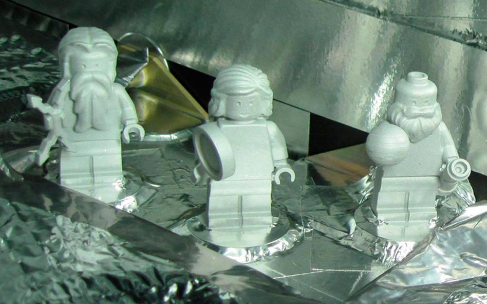 เลโก้อะลูมิเนียม ที่ถูกส่งไปบนยานจูโนด้วย