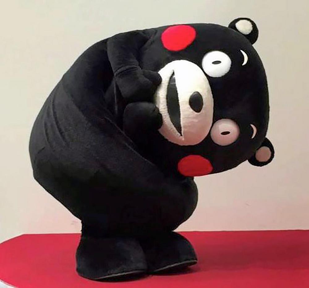 หมีคุมาม่อน..สัญลักษณ์เกาะคิวชู.