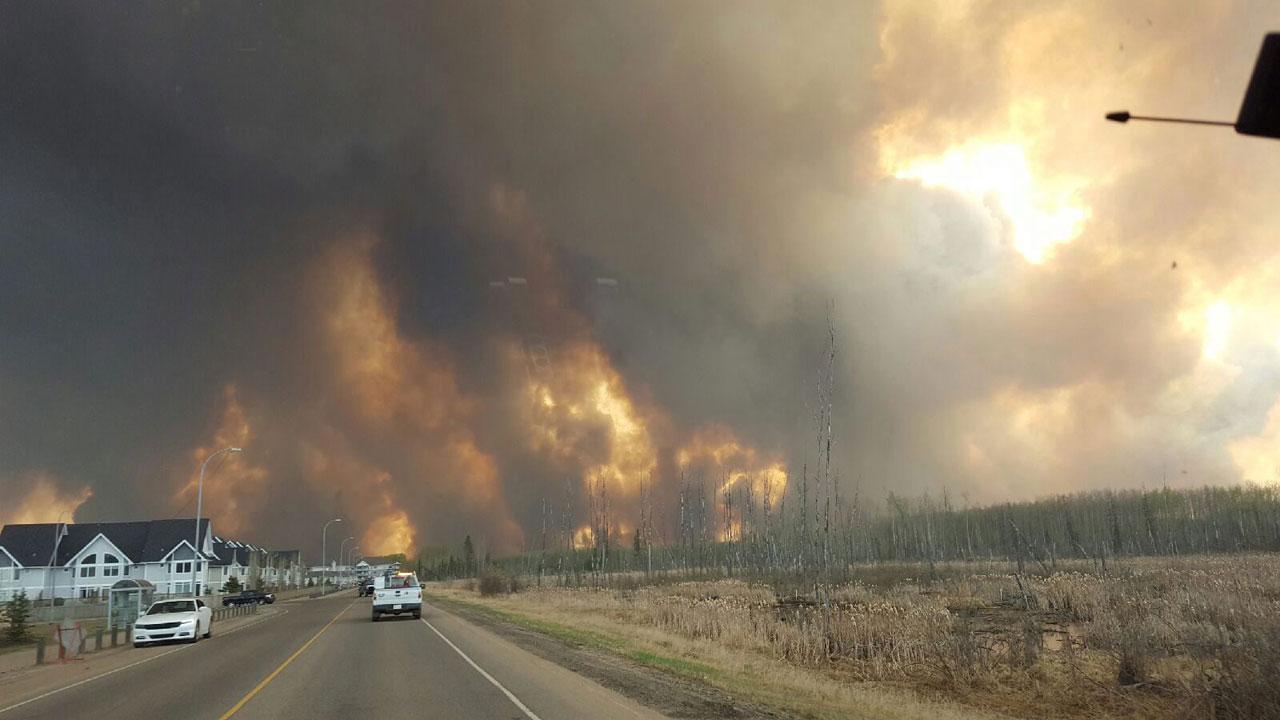 ไฟไหม้ป่าน่ากลัวมาก