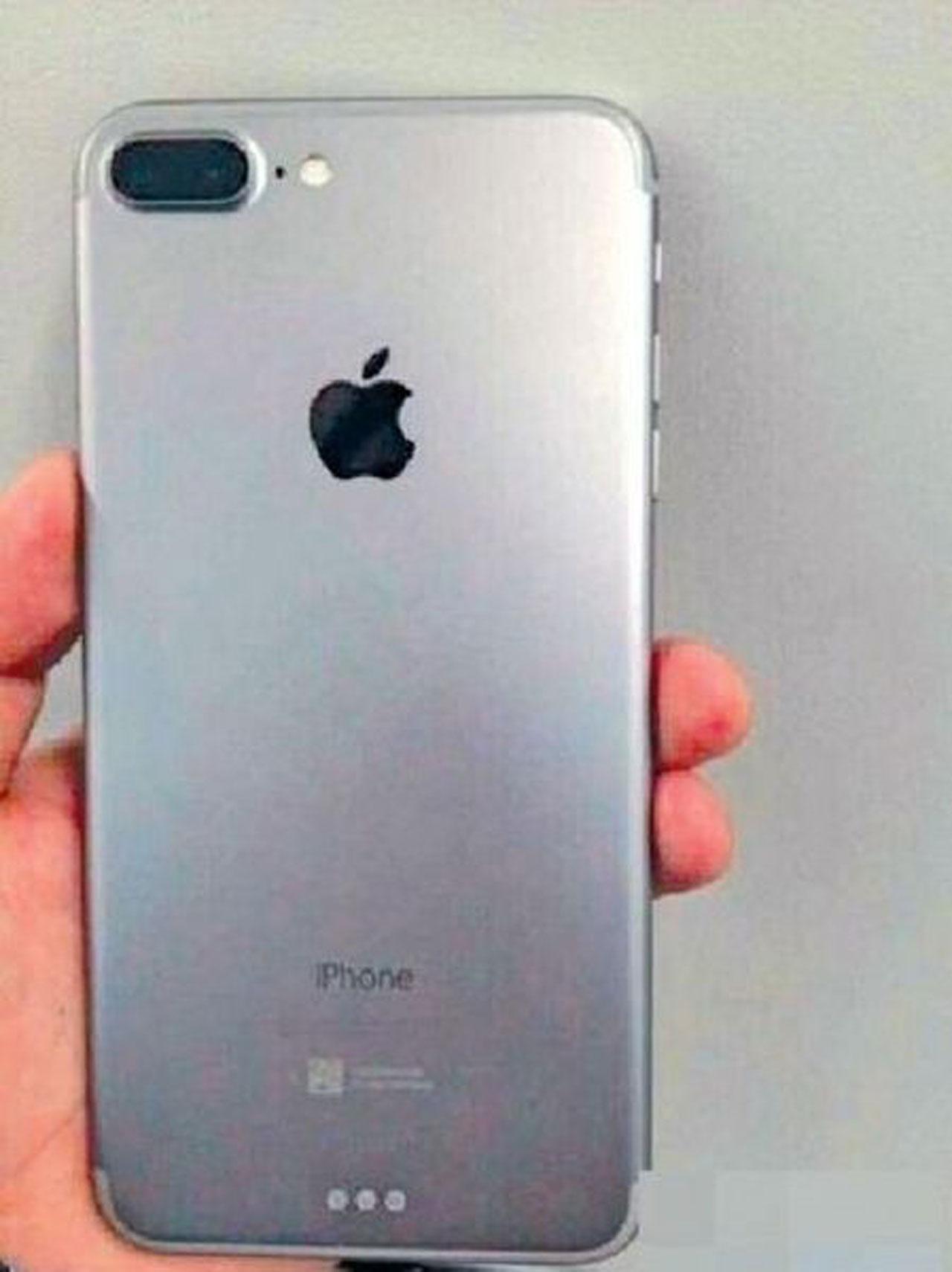 ภาพที่ถูกอ้างว่าเป็นภาพหลุดไอโฟน 7 พลัส