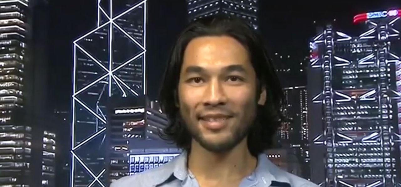 ภาพจากยูทูบ BBC News Audio : แบรนดอน ลี หนุ่มนักถ่ายหนัง