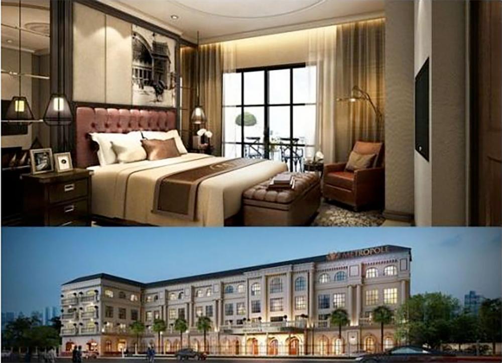 โรงแรมหรูแห่งใหม่ ใจกลางกรุงเทพฯ