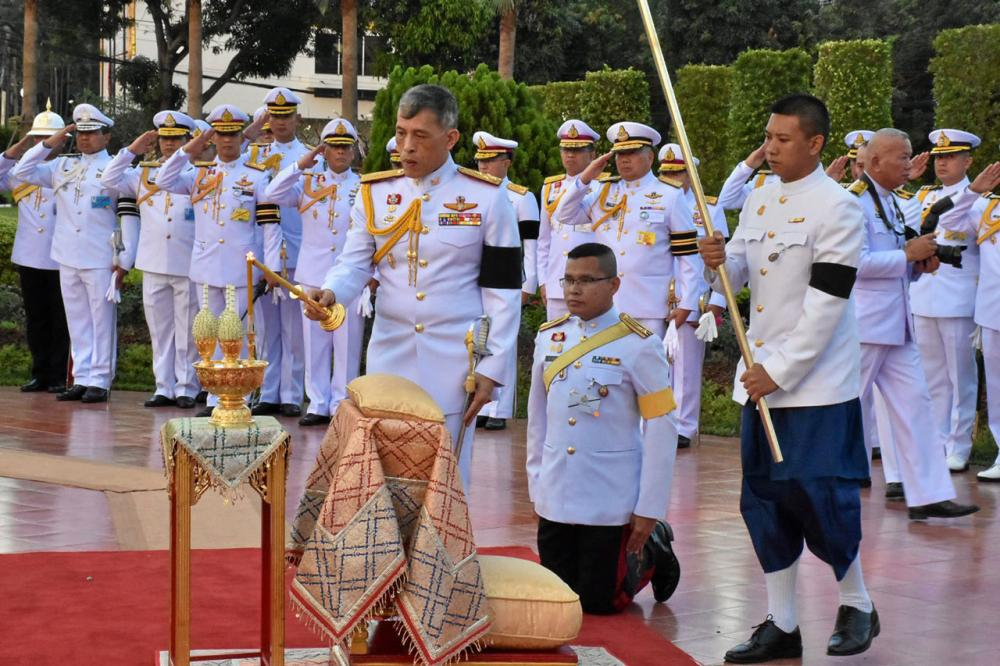 สมเด็จพระบรมโอรสาธิราชฯ สยามมกุฎราชกุมาร เสด็จพระราชดำเนินแทนพระองค์ไปทรงเป็นประธานงาน วันราชวัลลภ ปีที่ 148 ประจำปี 2559 ณ กองบังคับการกรมทหารราบที่ 1 มหาดเล็กรักษาพระองค์ฯ ถนนวิภาวดีรังสิต พญาไท เมื่อวันที่ 11 พฤศจิกายน.