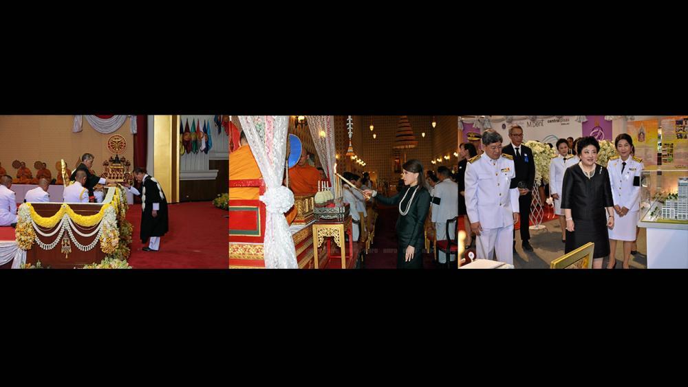 (ซ้าย)สมเด็จพระบรมโอรสาธิราชฯ สยามมกุฎราชกุมาร เสด็จฯพระราชทานปริญญาบัตรแก่ผู้สำเร็จการศึกษาจาก มหาวิทยาลัยธรรมศาสตร์ ประจำปี 2558 ในการนี้ อาสา สารสิน เข้ารับพระราชทานรัฐศาสตรดุษฎีบัณฑิตกิตติมศักดิ์ ณ มหาวิทยาลัยธรรมศาสตร์ เมื่อวันที่ 12 พฤศจิกายน.(กลาง)ทูลกระหม่อมหญิงอุบลรัตนราชกัญญา สิริวัฒนาพรรณวดี เสด็จพร้อมพระบรมวงศานุวงศ์ ไปในการพระพิธีธรรมสวดพระอภิธรรมพระบรมศพ พระบาทสมเด็จพระปรมินทรมหาภูมิพลอดุลยเดช ณ พระที่นั่งดุสิตมหาปราสาท ในพระบรมมหาราชวัง เมื่อวันที่ 12 พฤศจิกายน.(ขวา)พระเจ้าวรวงศ์เธอ พระองค์เจ้าโสมสวลี พระวรราชาทินัดดามาตุ เสด็จไปทรงเปิดนิทรรศการทันตสุขภาพ เพื่อฟันที่คุณรัก ณ ศูนย์การค้าเซ็นทรัลพลาซา ปิ่นเกล้า เมื่อวันที่ 12 พฤศจิกายน.