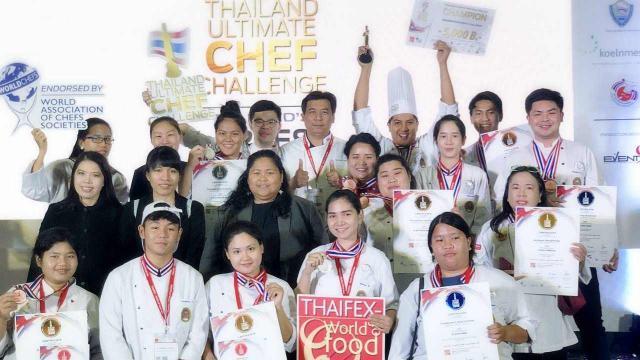 เยี่ยม! 20นศ.ราชภัฏเพชรบุรี ยกทีมคว้ารางวัล สุดยอดเชฟฯ