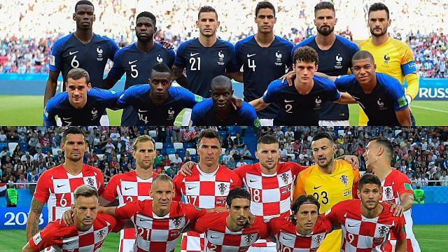 นัดชิงบอลโลก! ฝรั่งเศสจะเถลิงแชมป์สมัย 2 หรือโครเอเชียได้แชมป์ครั้งแรก