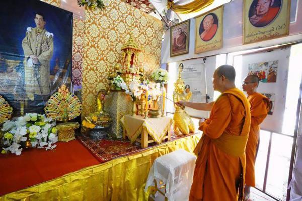 พระธรรมโพธิวงศ์ (วีรยุทฺโธ) หัวหน้าพระธรรมทูตไทยสายอินเดีย-เนปาล และเจ้าอาวาสวัดไทยพุทธคยา อินเดีย เป็นประธานเปิดการเดินธรรมยาตรา.