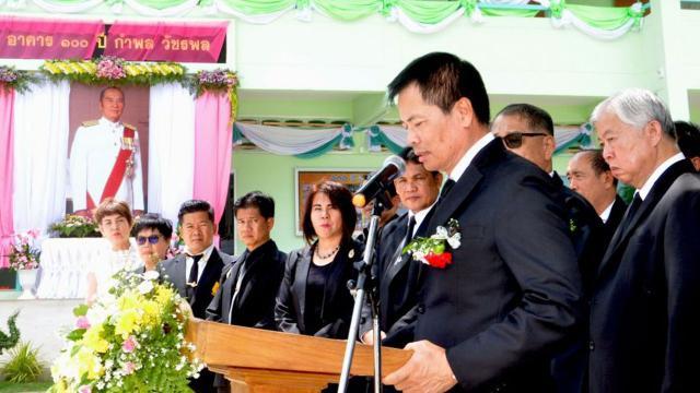 มูลนิธิไทยรัฐ ส่งมอบอาคารเรียน ๑๐๐ ปี กำพล วัชรพล โรงเรียนไทยรัฐวิทยา ๑๐๗
