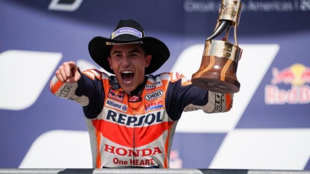 """ไร้เทียมทาน """"มาร์เกซ"""" บิดม้วนเดียวจบ เข้าป้ายคว้าแชมป์ """"MotoGP"""" สนาม 15"""