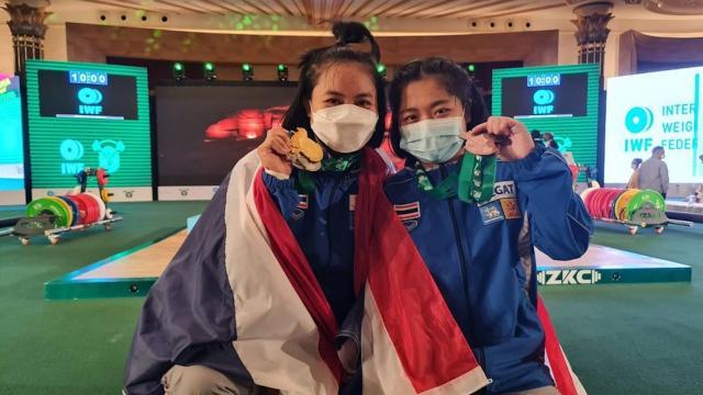 ยกเหล็กไทย ฮอตไม่เลิก คว้าอีก 1 ทอง 2 เงิน 2 ทองแดง ศึกยุวชนโลก