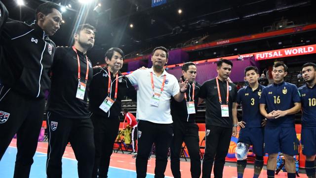 """""""บิ๊กป๋อม"""" เปิดใจอนาคตฟุตซอลทีมชาติไทยพร้อมนโยบายใหม่สู่ชิงแชมป์โลก อีก 3 ปี"""