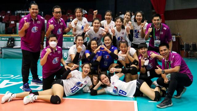 """""""ตบสาวไทย ยู-18"""" ฟอร์มเฉียบอัด """"เปรู"""" ศึกชิงแชมป์โลก 2021"""