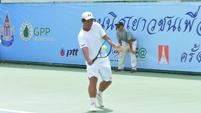 """สุดแกร่ง """"ศุภวัฒน์"""" รวบแชมป์เดี่ยว-คู่ เทนนิสชิงแชมป์ประเทศไทย"""