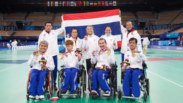 """น่ายกย่องทุกคน สรุปทั้ง 18 เหรียญรางวัล """"ทัพนักกีฬาไทย"""" ในพาราลิมปิก 2020"""