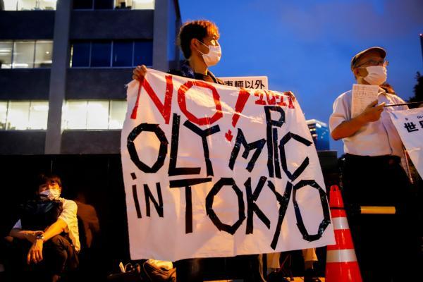 ชาวญี่ปุ่นยังคงออกมาชุมนุมคัดค้านรัฐบาลจัดการแข่งขัน โอลิมปิก 2020