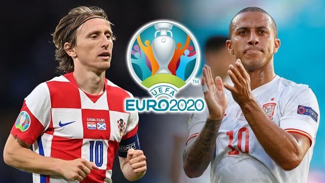 """วิเคราะห์ค่าพลัง-เทียบสถิติ """"โครเอเชีย-สเปน"""" ยูโร 2020 รอบ 16 ทีม ก่อนบู๊แตกหัก"""