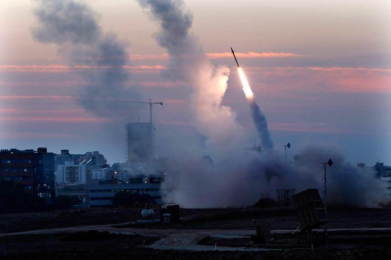 ฐานยิงไอรอนโดมครอบคลุมในการป้องกัน 150 ตร.กม.