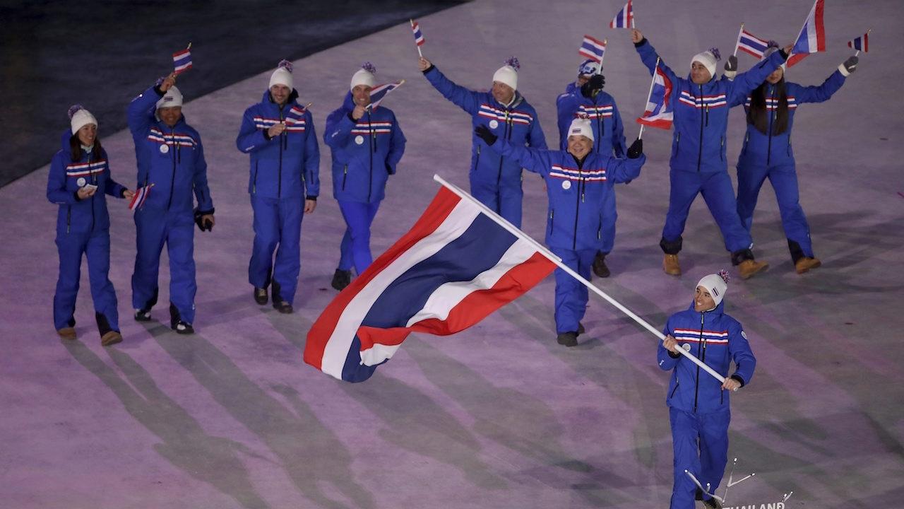 ประมวลภาพจัดเต็ม! พิธีเปิดโอลิมปิกฤดูหนาว 2018