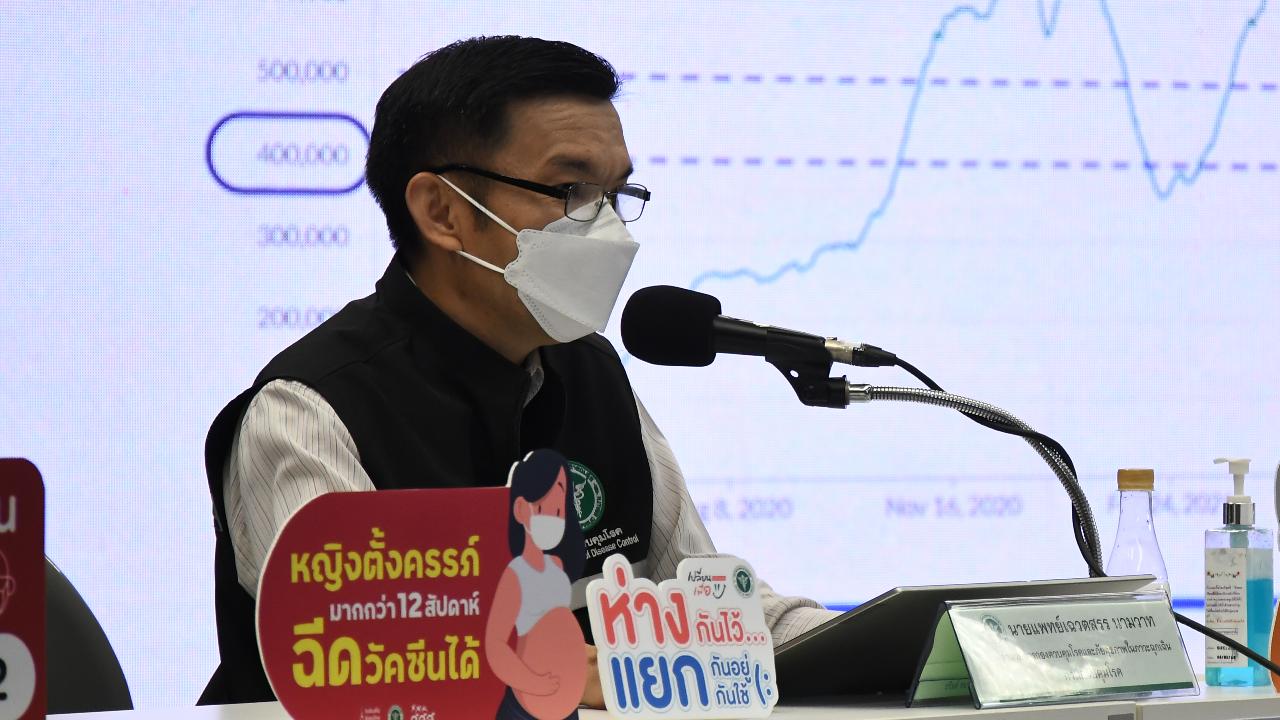 สธ. เตรียมแถลงข่าวต่อ หลังไทยพบผู้ติดเชื้อสายพันธุ์เดลตาพลัสแล้ว 1 ราย