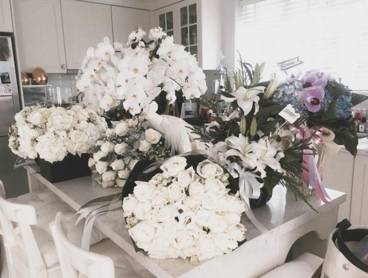 โต๊ะดอกไม้