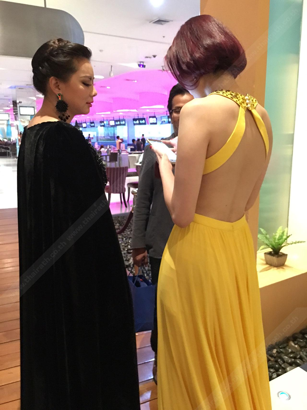 บุ๋ม ปนัดดา กับ วิว พงศ์ชนก กันกลับ มิสไทยแลนด์เวิลด์ Miss Thailand World 2009
