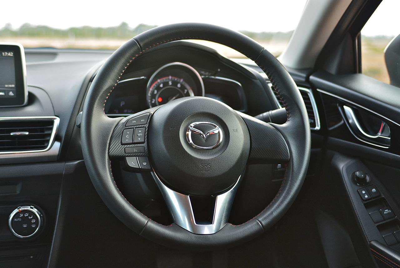 MAZDA 3 2014 Steering Wheel