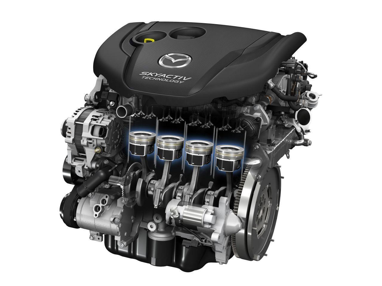 MAZDA 3 2014 2.0 SkyActiv G Engine