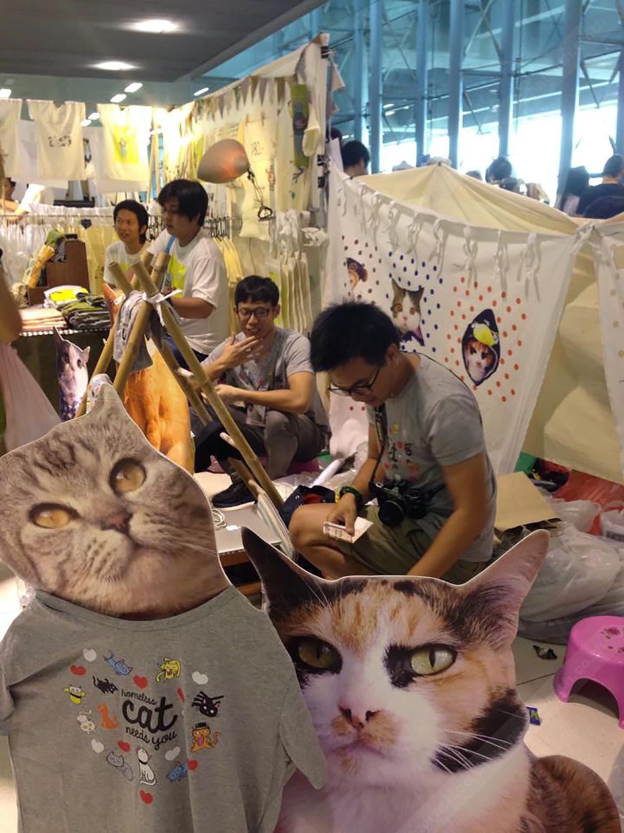 ซื้อเสื้อยืดรายได้สมทบทุนช่วยแมวนะเมี้ยวววว