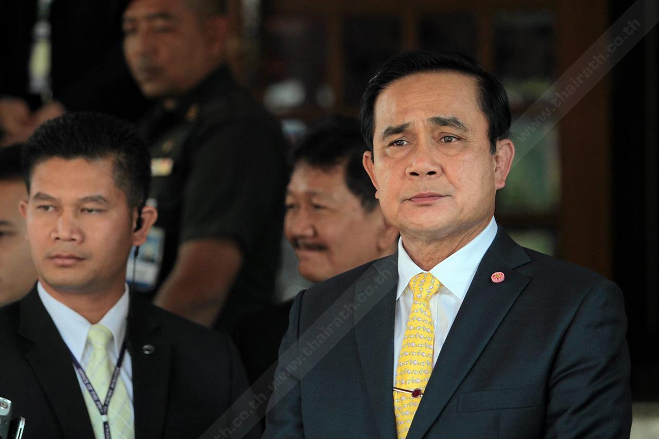 บิ๊กตู่ ผู้คุมบังเหียนประเทศไทยในขณะนี้