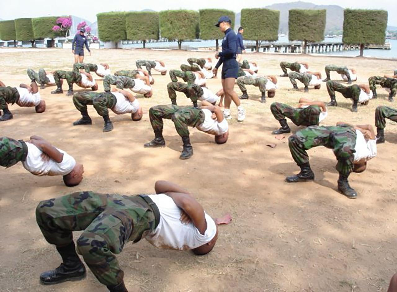 ฝึกมนุษย์กบ หรือ Seal รุ่นที่ 34