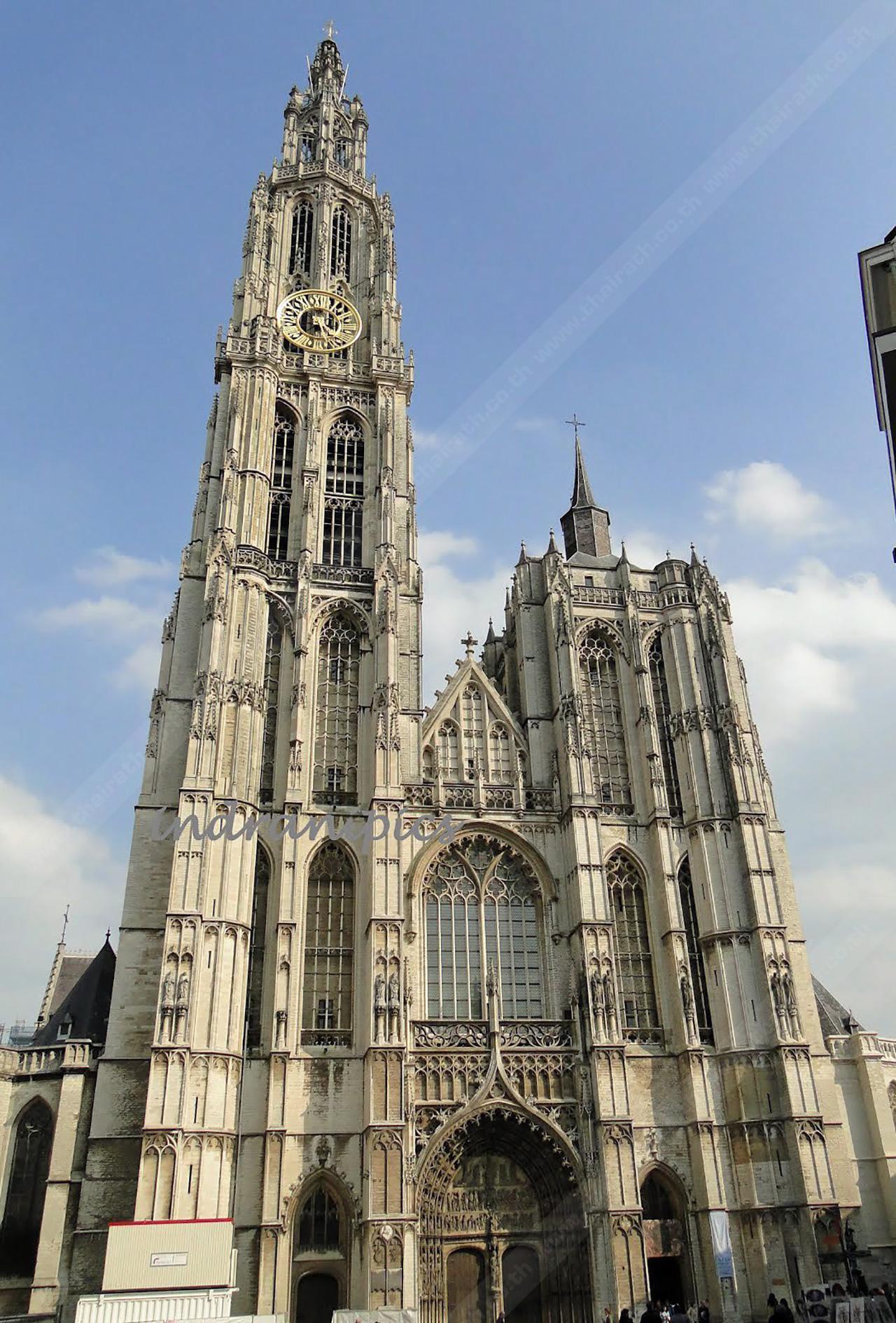 Cathedral of our Lady... มหาวิหารแห่ง แอนท์เวิร์ป.