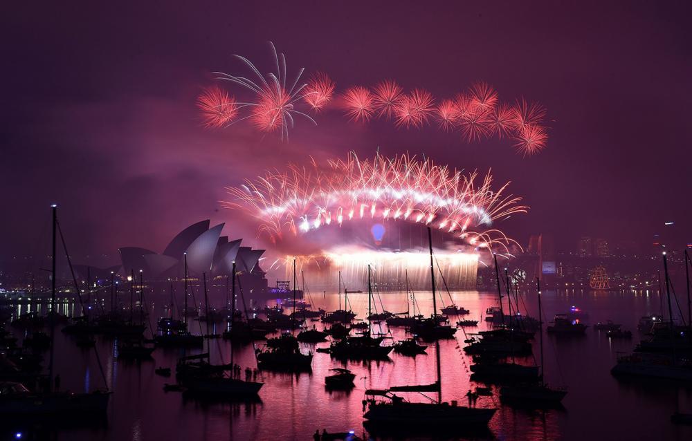 ออสเตรเลียจัดการแสดงพลุไฟอย่างยิ่งใหญ่ในนครซิดยีน์เหมือนเช่นทุกปี