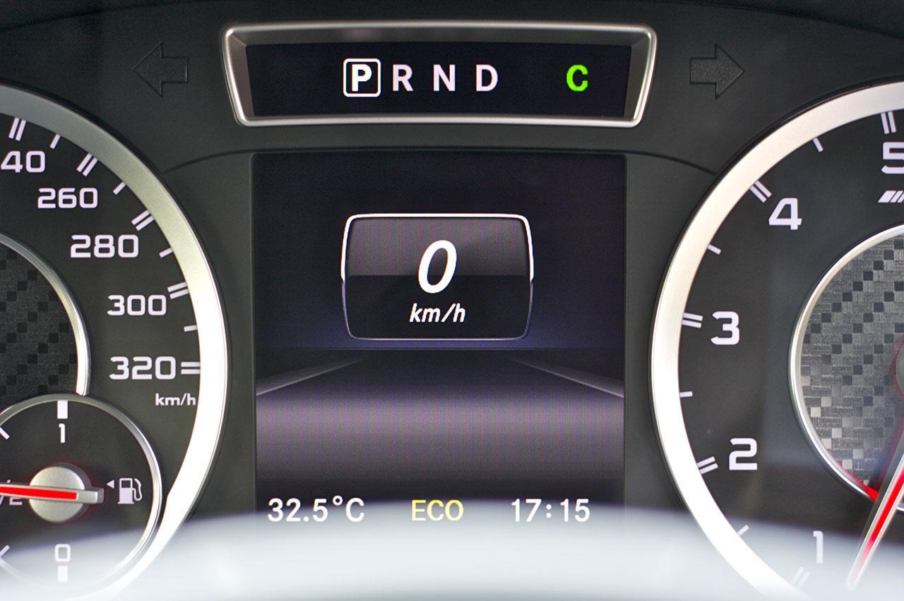 Mercedes Benz A45 AMG Interior