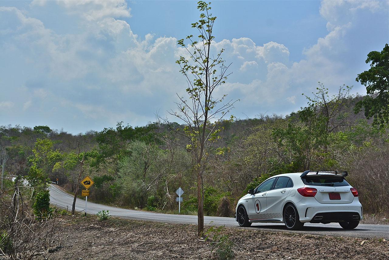 Mercedes Benz A45 AMG Test Drive