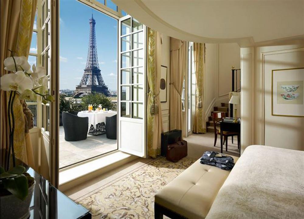 โรงแรมที่หรูเริดที่สุดในปารีส