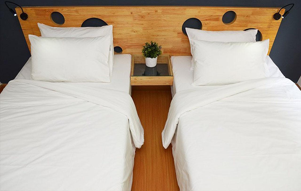 ห้องแบบเตียงคู่ก็น่ารัก น่าพัก